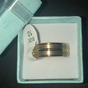 Other - ♥️Men's Gold filled Stainless Steel Band